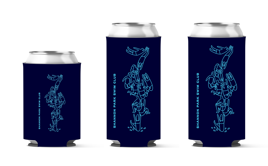 Shannon Park Pool Coozie Designs